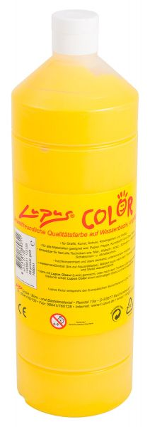 LUPUS Color Farbe 1 Liter hellgelb